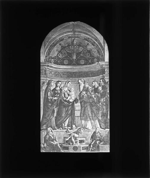 Tableau : Présentation de Jésus au temple