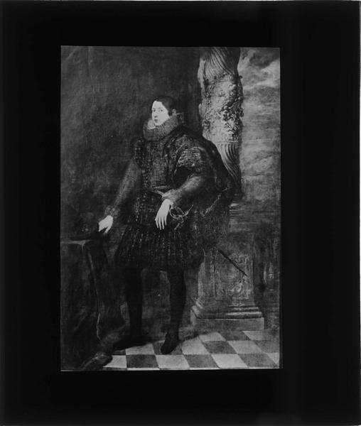 Tableau : portrait d'un jeune noble génois