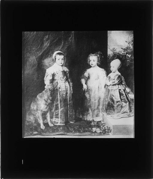 Tableau : Les enfants de Charles Ier d'Angleterre, Charles, Mary et James