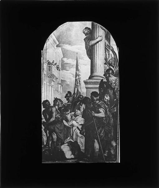 Tableau : Martyre des saints Primus et Felician