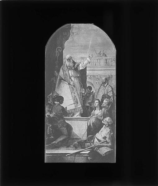 Tableau : Le miracle de saint Patrick