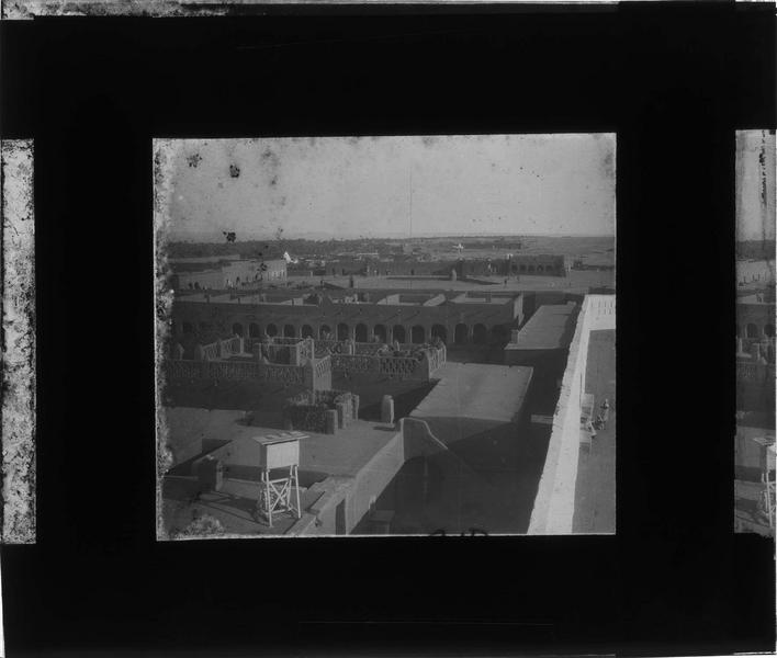 Panorama depuis un toit