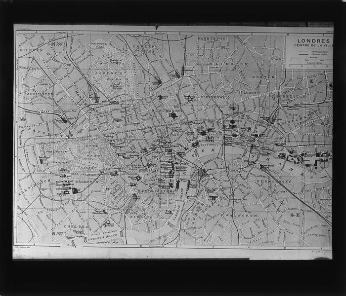 Plan de Londres, centre ville