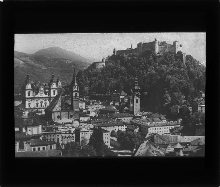 Panorama de l'ancienne ville