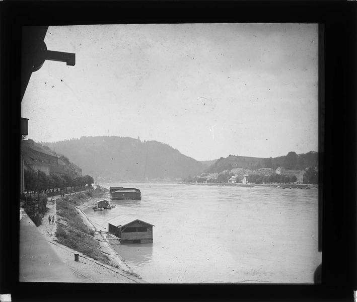 Danube depuis le quai