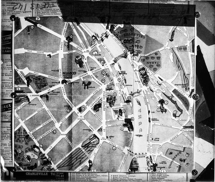 Plan de Budapest, centre ville