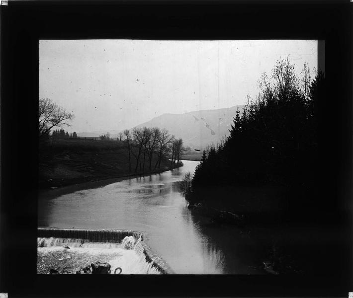 L'Ain au niveau du premier barrage