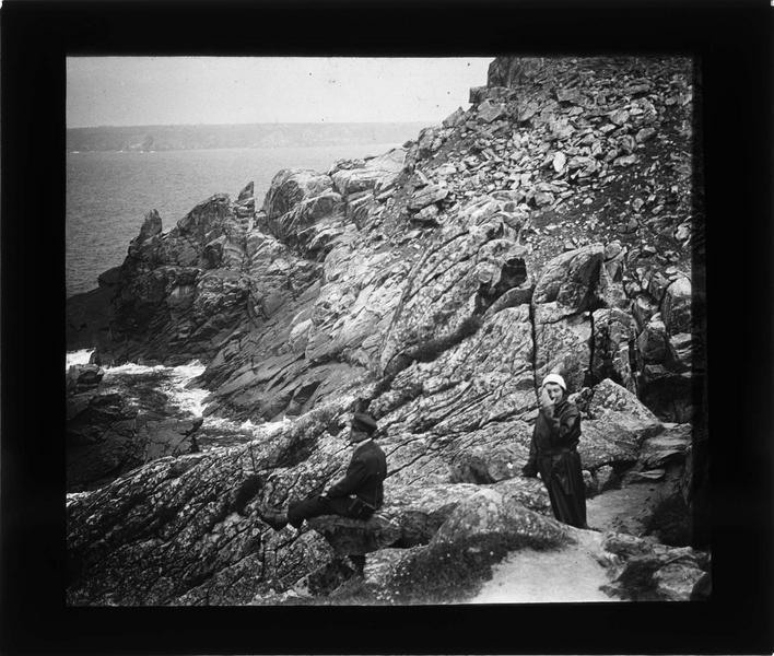 Pointe du Raz, l'enfer de Plogoff, vue animée