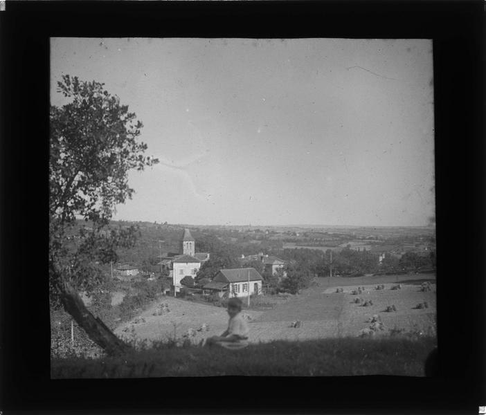 Panorama depuis la route des Granges