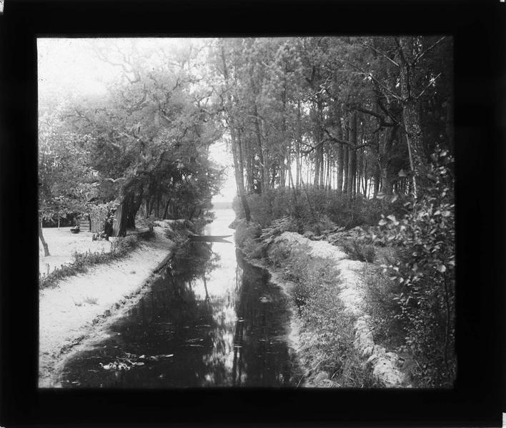 Canal de l'étang Blanc