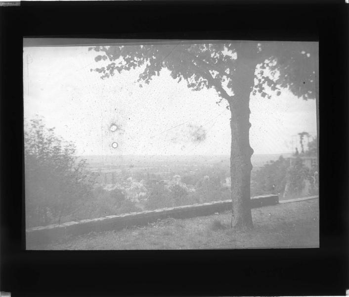 Panorama depuis la terrasse