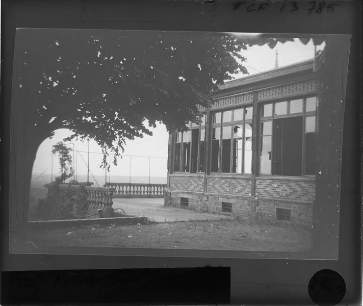 Terrasse en ruines