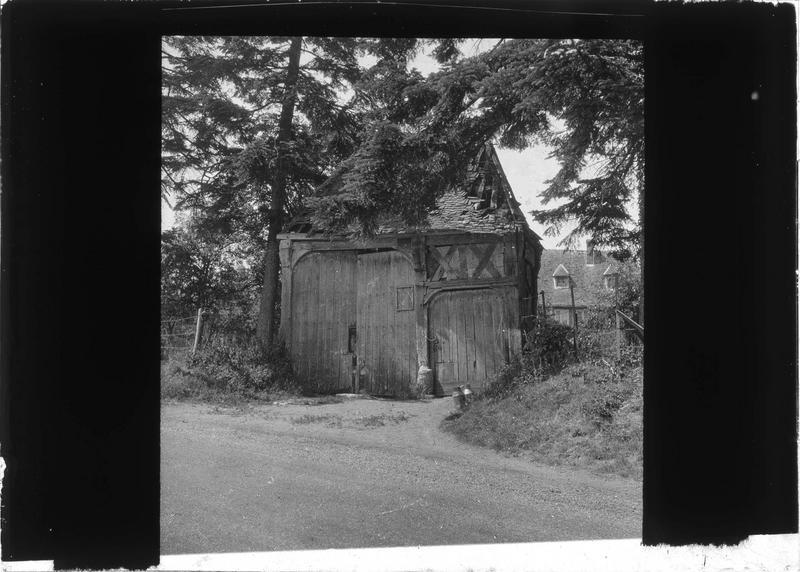 Porche d'entrée en bois