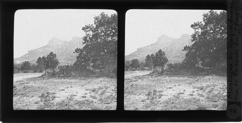 Rocher de Roquebrune, côté nord