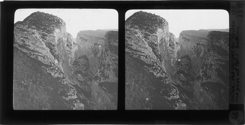 Point Sublime dans les Gorges du Verdon