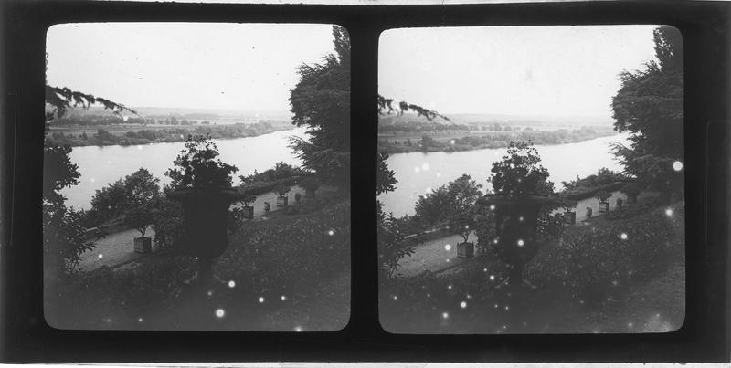 La Loire depuis une terrasse