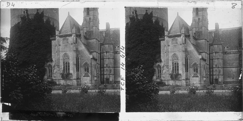 Donjon et Sainte-Chapelle, côté nord-est
