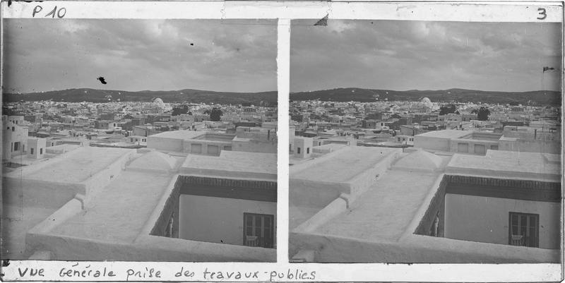 Panorama sur les toits du Quartier de Sidi Mahrez