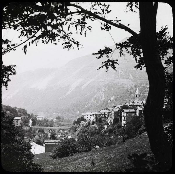 Panorama sur la vallée du Boréon, côté nord-est