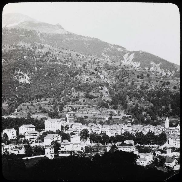 Panorama sur la vallée du Boréon