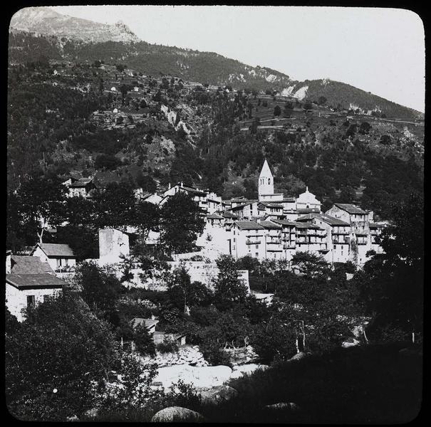 Panorama depuis la vallée de la Madone de Fenestre