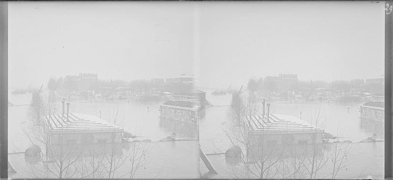 Crue de la Seine : ensemble inondé