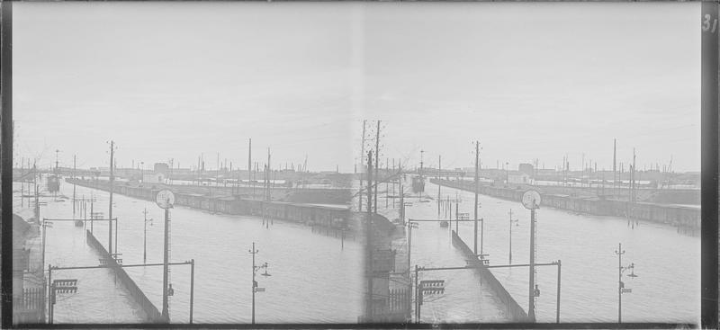 Crue de la Seine : voies inondées