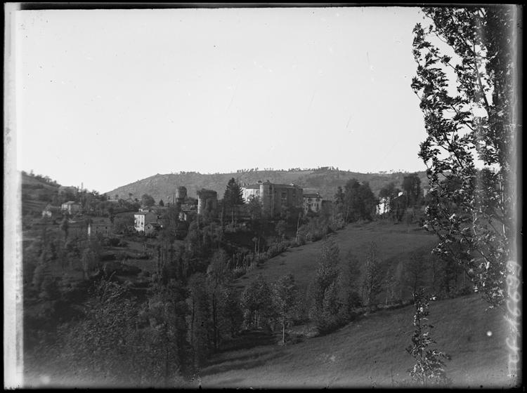 Panorama pris depuis une colline
