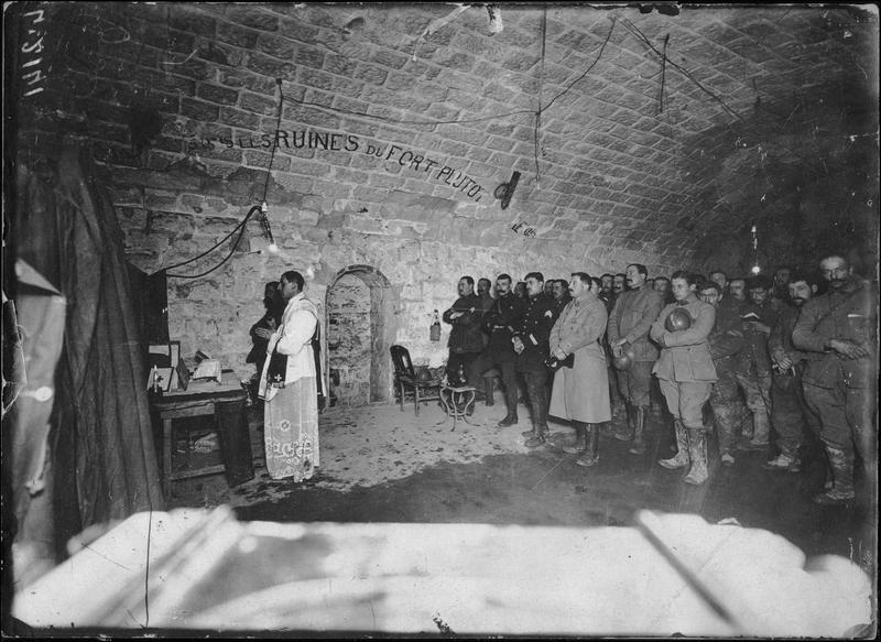 La messe de minuit au fort de Douaumont