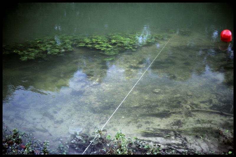 Vue de la ligne de vie (fouille Y. Billaud/Drassm).