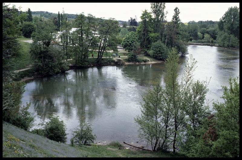 Vue du site du Bouillant (fouille Y. Billaud/Drassm).