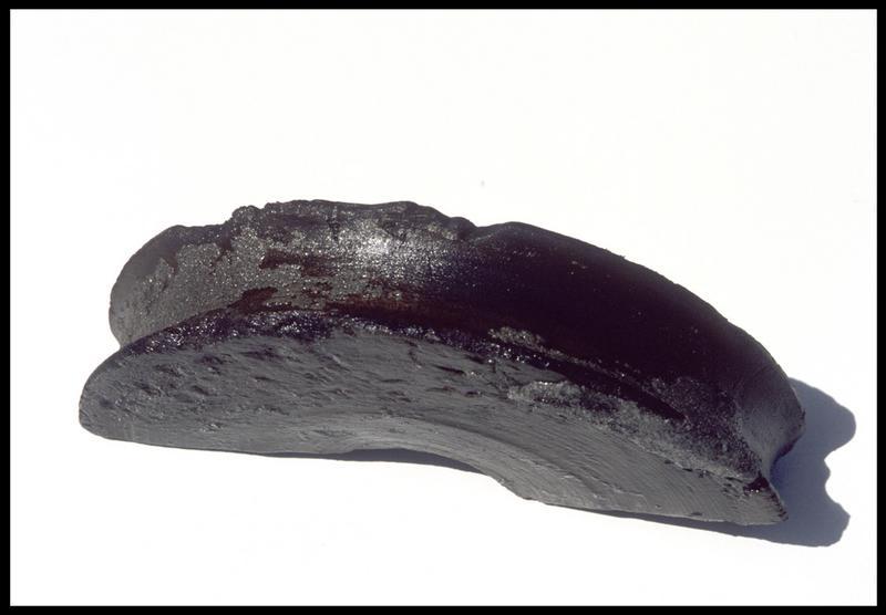 Vue d'un fragment de réa en bois (fouille M. L'Hour/Drassm, E. Veyrat/Drassm).
