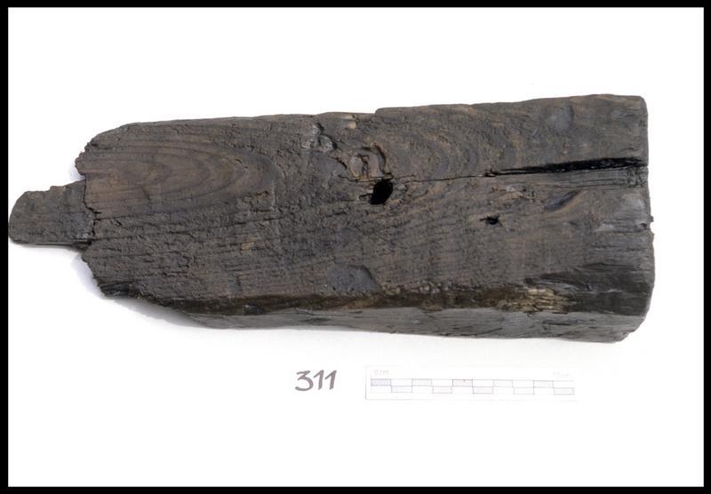 Vue d'un coin de bois (fouille M. L'Hour/Drassm, E. Veyrat/Drassm).