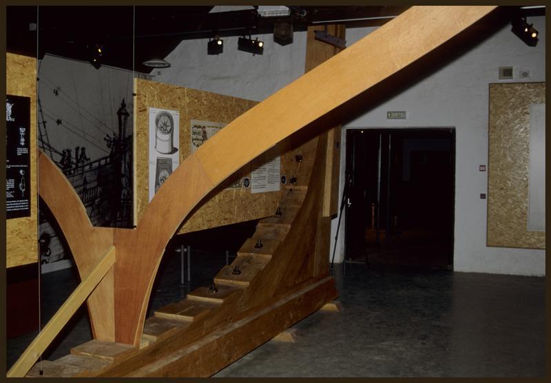 Vue d'une des salles d'exposition.