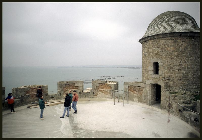 Vue du sommet de la tour du Fort.