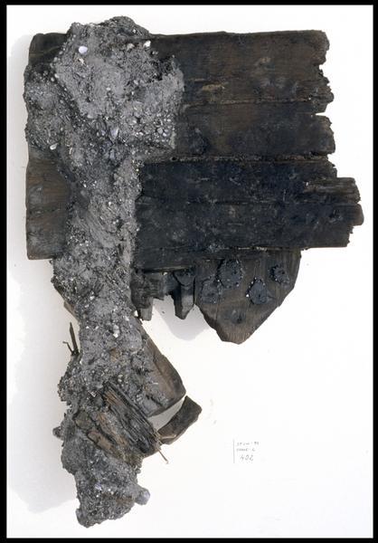 Vue du mantelet de sabord (fouille M. L'Hour/Drassm, E. Veyrat/Drassm).