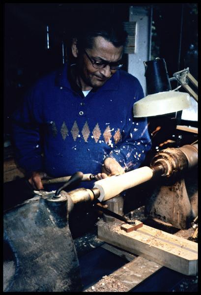 Vue du travail au tour à bois (fouille M. L'Hour/Drassm, E. Veyrat/Drassm).