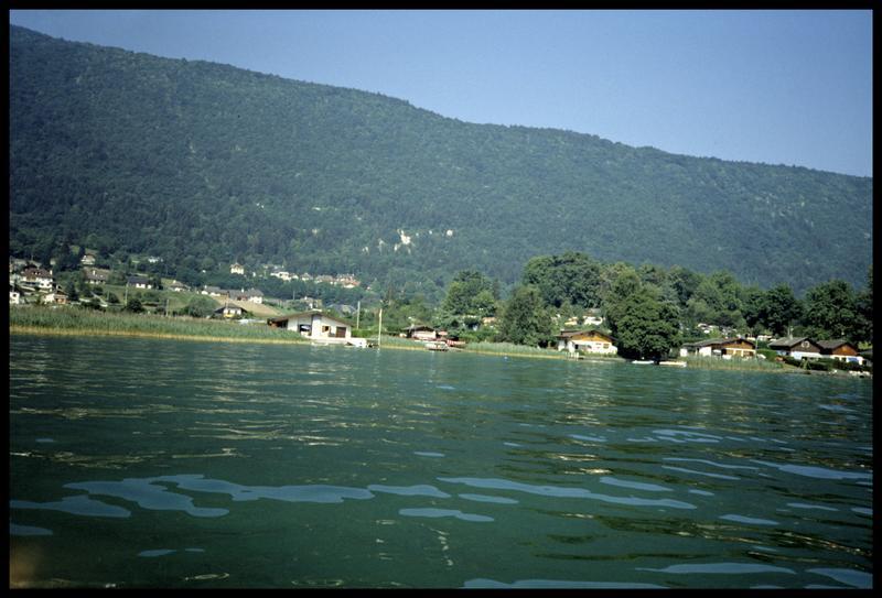 Vue de la rive des Choseaux (fouille A. Marguet/Drassm).
