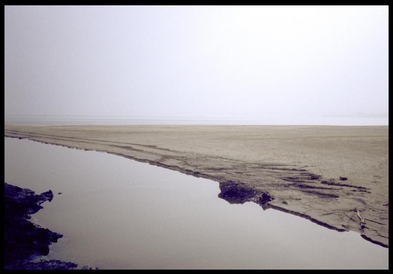 Vue de l'embouchure du Fornon (fouille A. Marguet/Drassm).