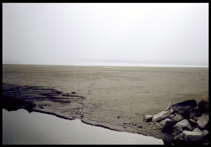 Vue de la rive de l'embouchure du Fornon (fouille A. Marguet/Drassm).