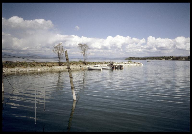 Vue de la digue du port (fouille A. Marguet/Drassm).