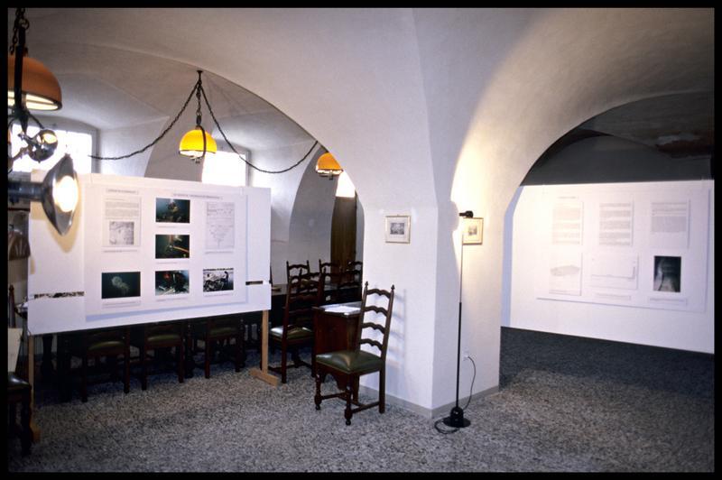 Vue de la salle d'exposition (fouille Musée d'Annecy).