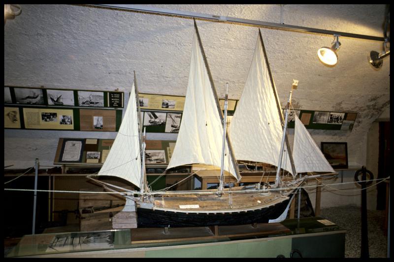 Vue d'une maquette (fouille Musée d'Annecy).