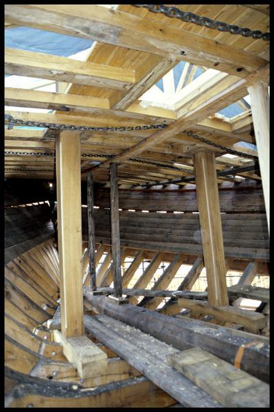 Vue de détail de la construction de la Savoie.