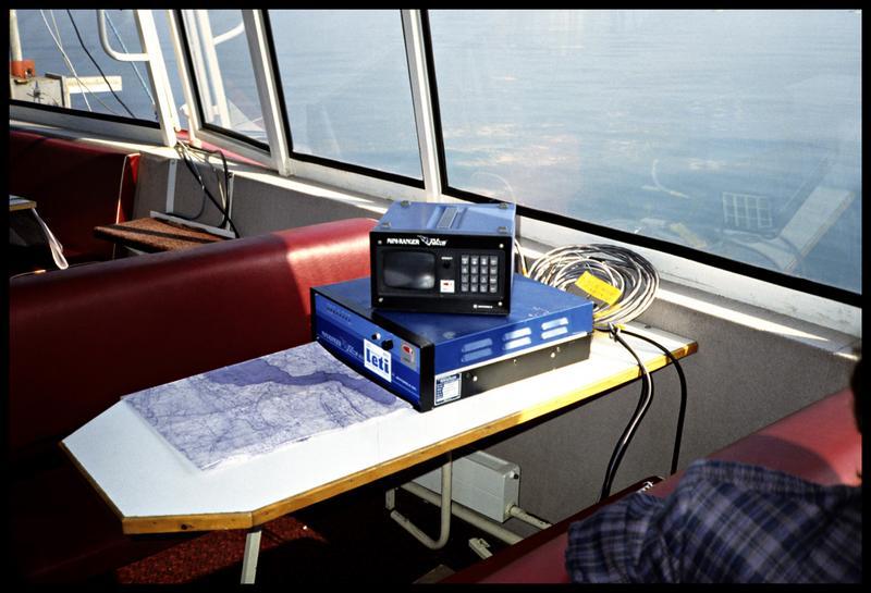 Vue du relais visuel du sondeur (fouille CNRAS).