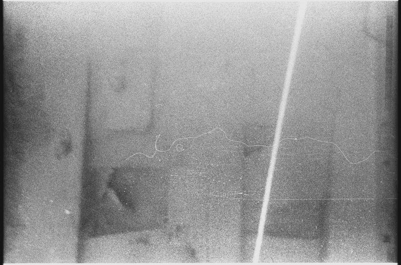 Vue sous-marine de détail de la carène (fouille M. Fournon).