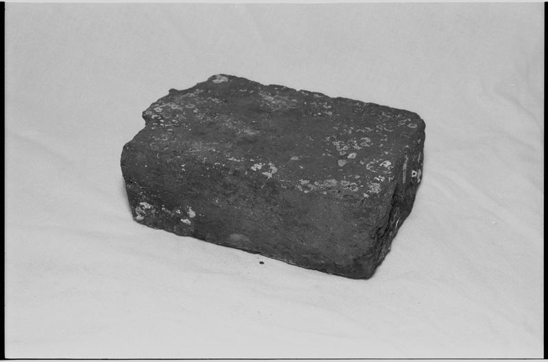 Vue d'une brique (fouille M. L'Hour/Drassm).