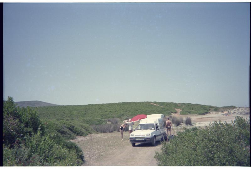 Vue du véhicule de fouille (fouille H. Bernard/Drassm).