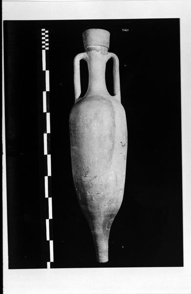 Vue d'une amphore Pascual 1 (fouille D. Fonquerle).