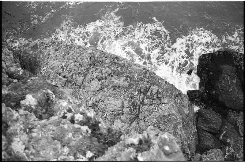 Vue de la falaise (fouille M. L'Hour/Drassm).